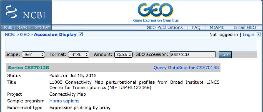 gene expression omnibus